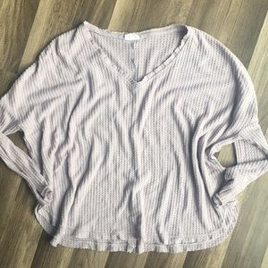 Out from under UO purple oversized thermal XS